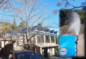 Εγκατάσταση ηλιακών αντλιών Lorentz στις Πετριές Ευβοίας